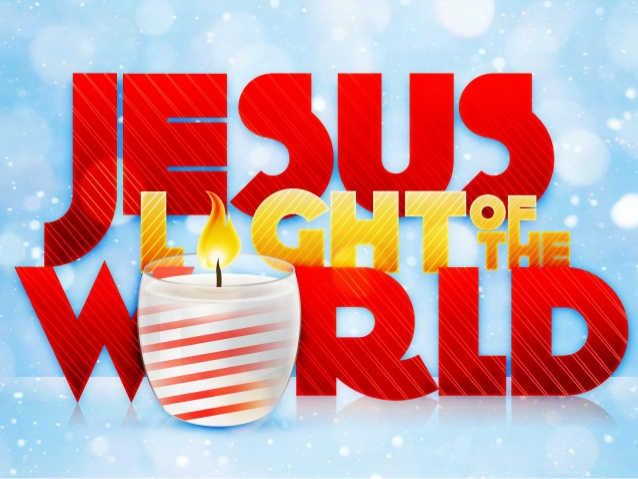 JESUS is Light of the world.