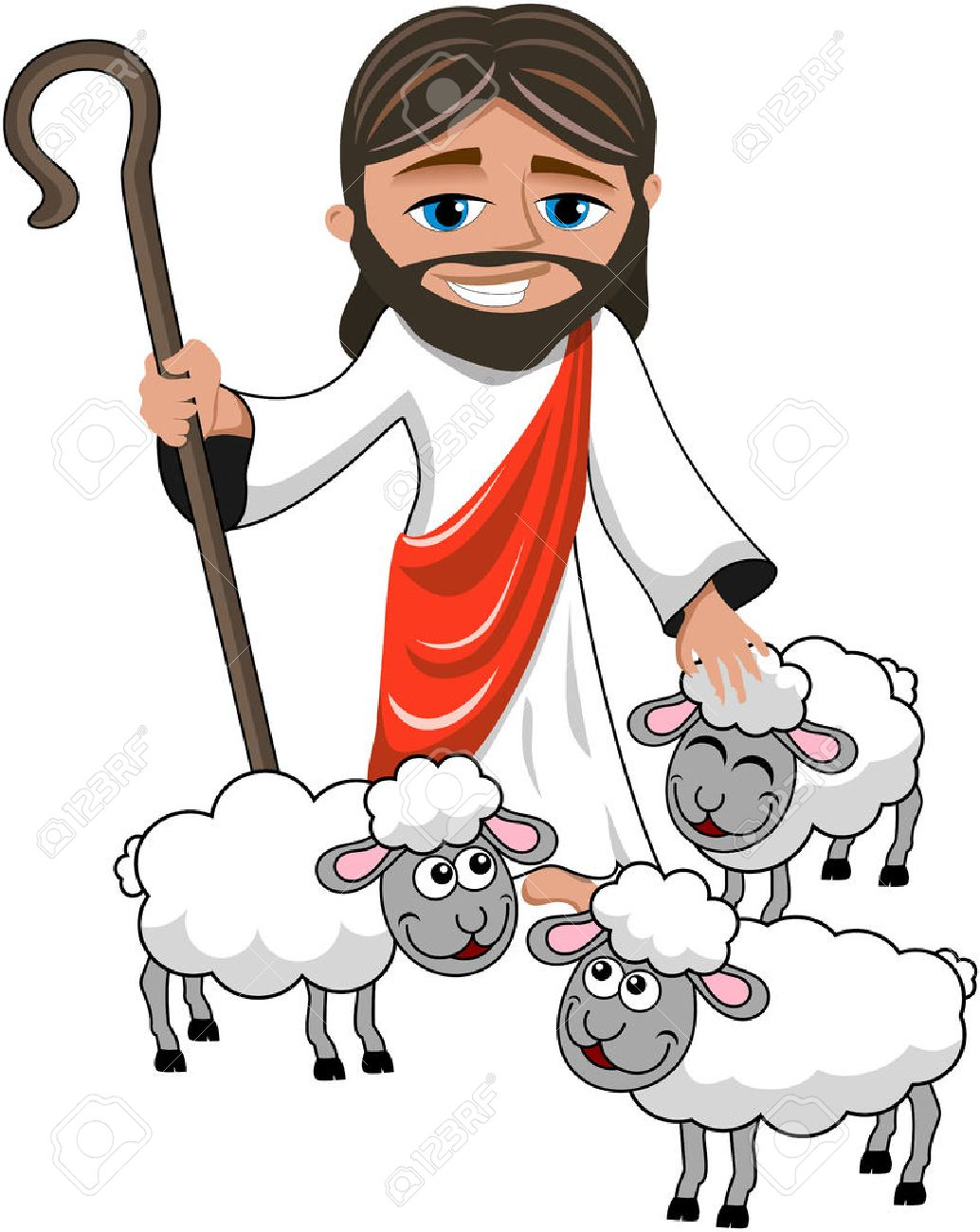 Jesus The Good Shepherd Clipart at GetDrawings.com.