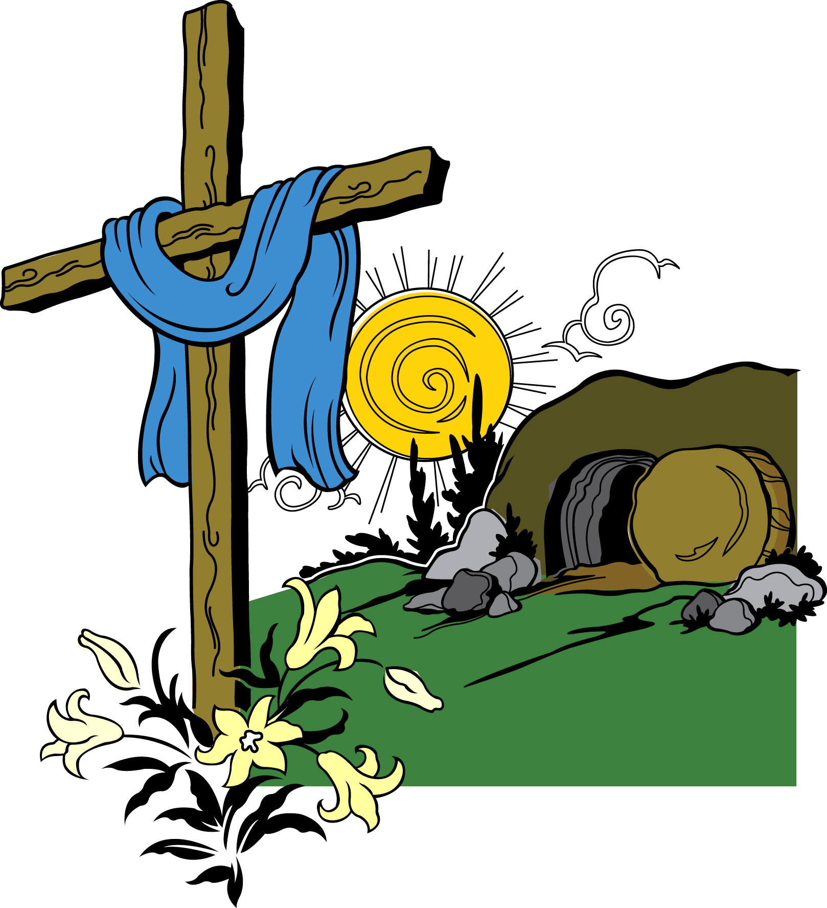 Free Cave Clipart jesus tomb, Download Free Clip Art on Owips.com.