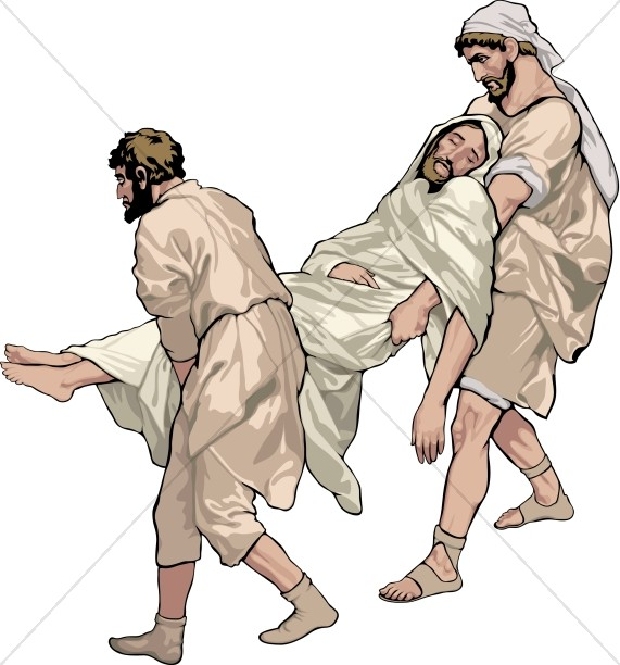 Jesus Carried to the Tomb.