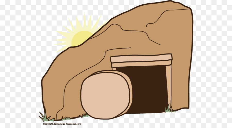 Empty Tomb Tomb Of Jesus Easter Clip Art #139735.