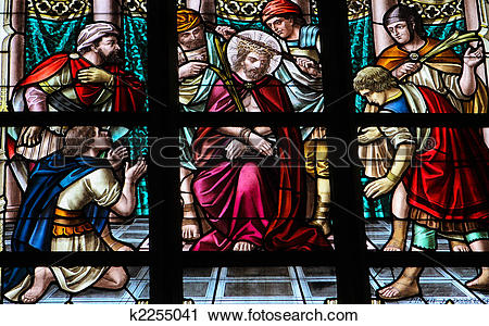 Stock Photography of Torture of Jesus k2255041.