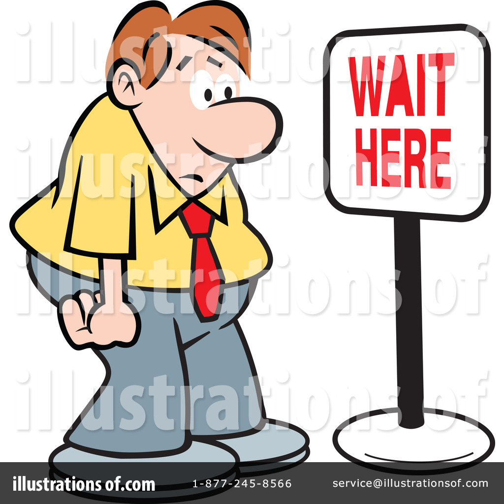 Waiting For Jesus Like Mary Clipart.