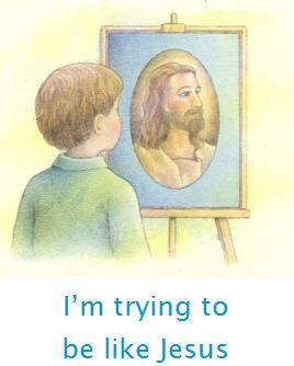 Be Like Jesus Clipart.