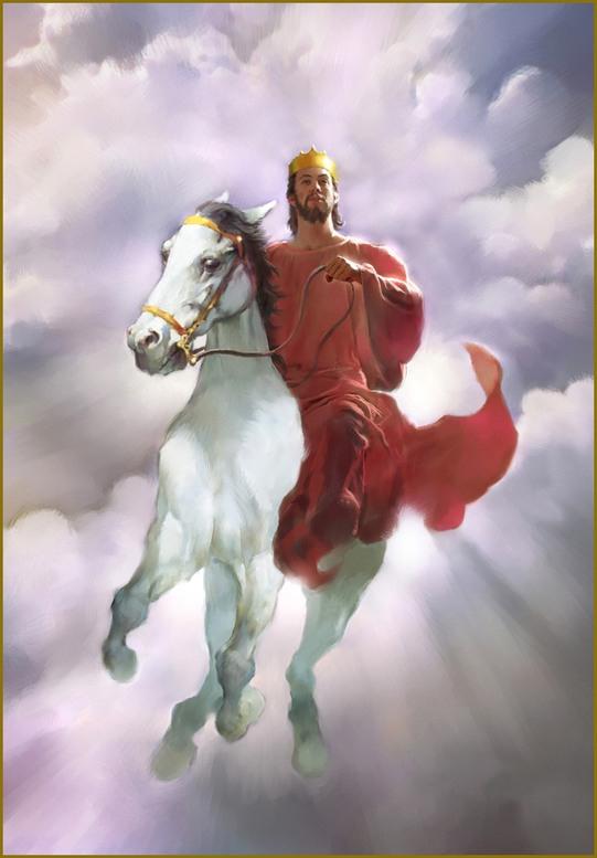 Second Coming Jesus 01.
