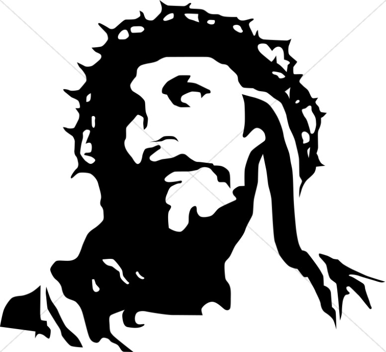 Christ with Crown of Thorns.