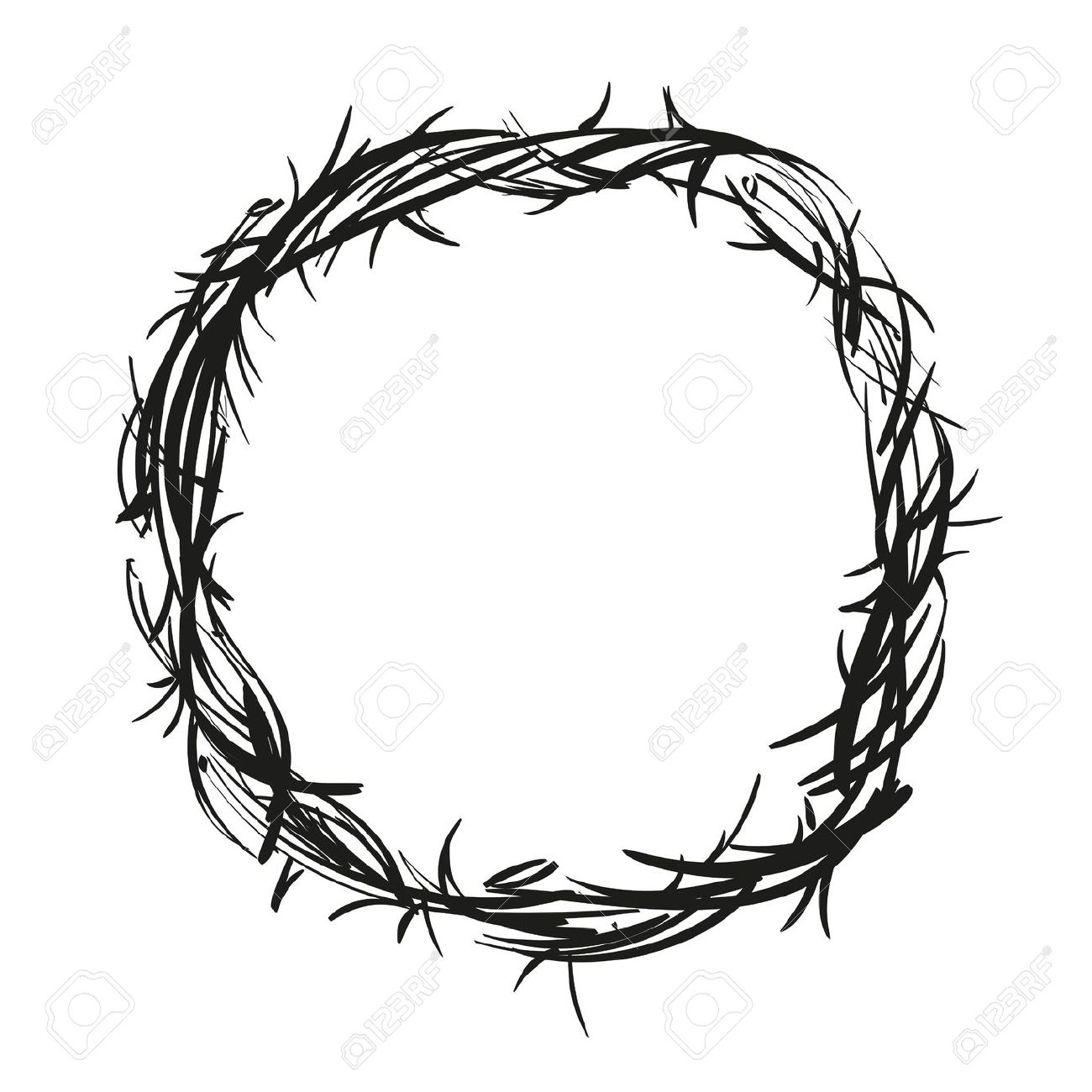 759 Crown Of Thorns Stock Illustrations, Cliparts And Royalty Free.