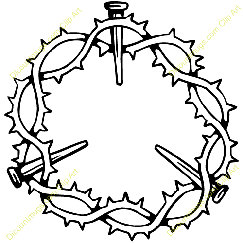 Crown Of Thorns Clip Art.