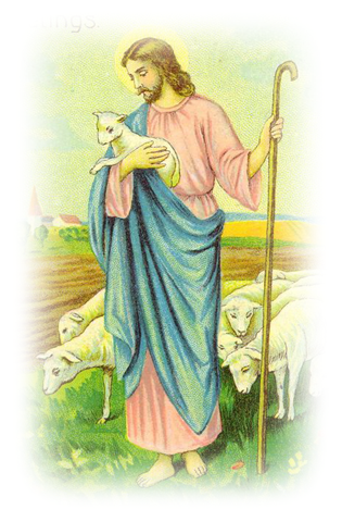 Jesus With Sheep Clipart Clipground
