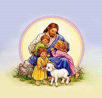 clipart of the precious lamb of god.