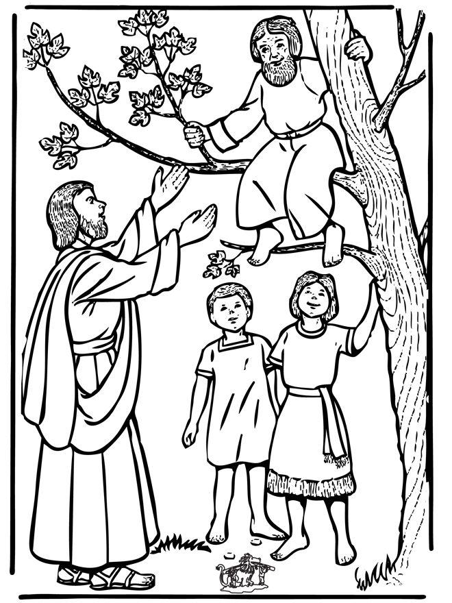 jesus zacchaeus clipart Clipground