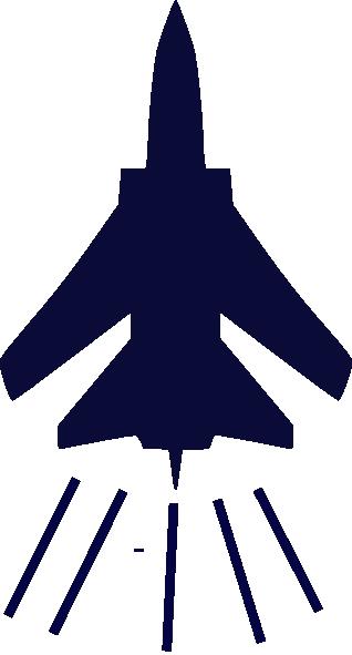 Cartoon Fighter Jet.