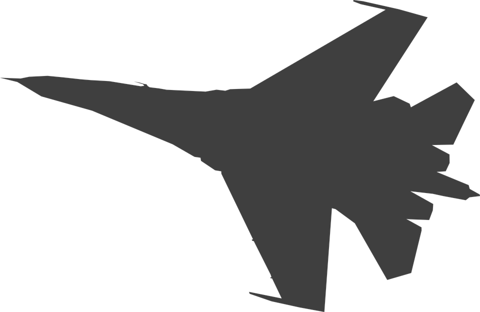 Free vector graphic: Plane, Military, Jet, Aircraft.