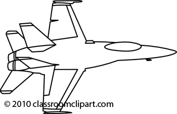 Jet Clipart Black And White Aircraft 06 01 2010 6rbw #RpShry.