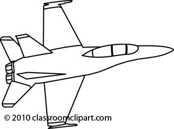 Jet Black And White Clipart.