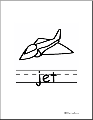 Jet Clipart Black And White.