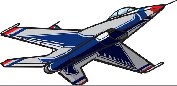 Cartoon Clipart Jet.