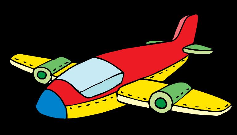 Clipart driving jet plane.