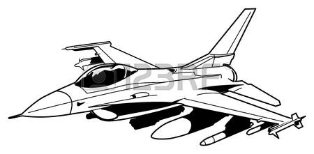 2,662 Fighter Jet Stock Vector Illustration And Royalty Free.