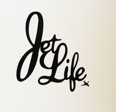 Curren$y Jet Life Wall Decal Poster.