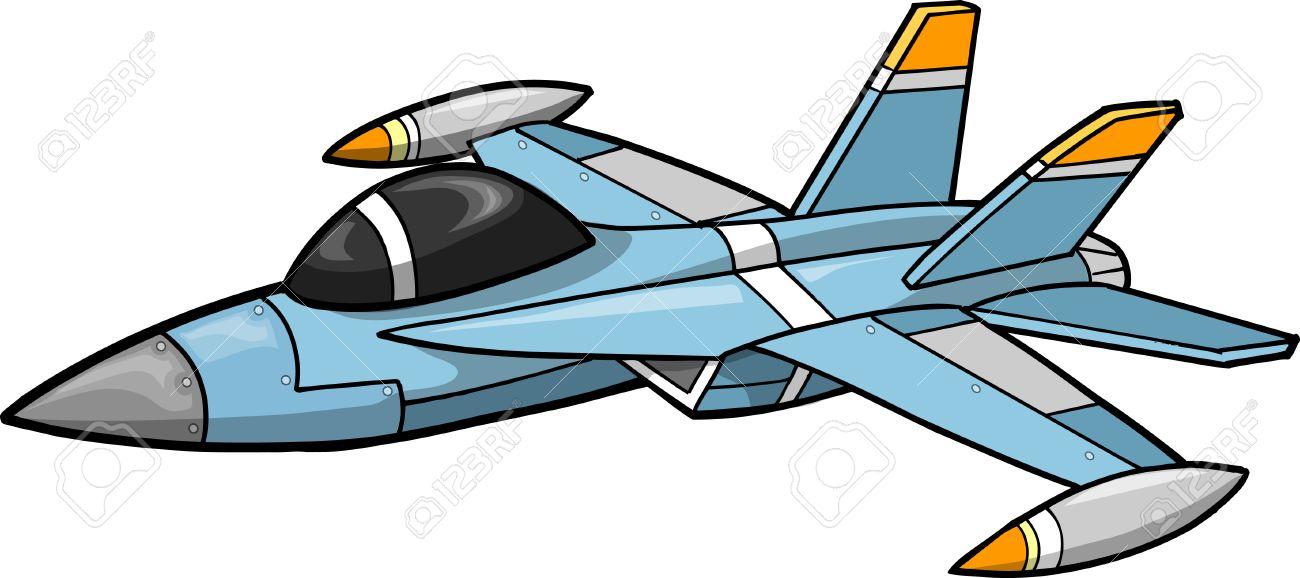 Jet Fighter Illustration.