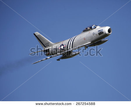 Sabre Jet Stock Images, Royalty.