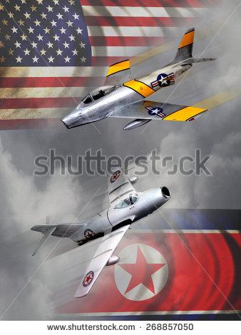 Korean War Stock Images, Royalty.