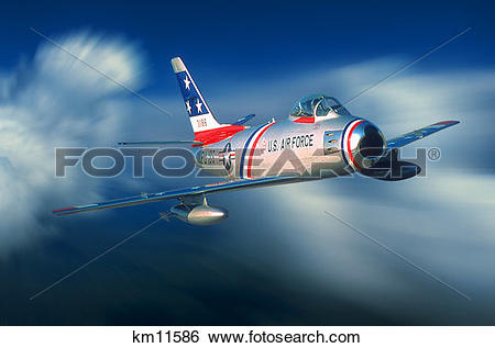Stock Images of 1950S North American F.