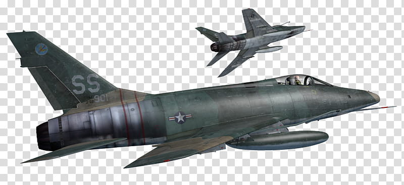 Sabres Aircraft Resources, green fighter jet transparent.