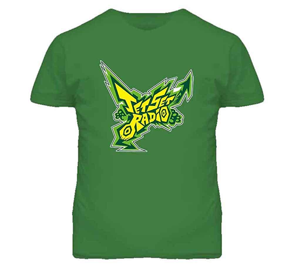 Amazon.com: Tshirt Bandits Men\'s Jet Set Radio Logo T.