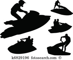 Jet ski Clip Art and Illustration. 755 jet ski clipart vector EPS.