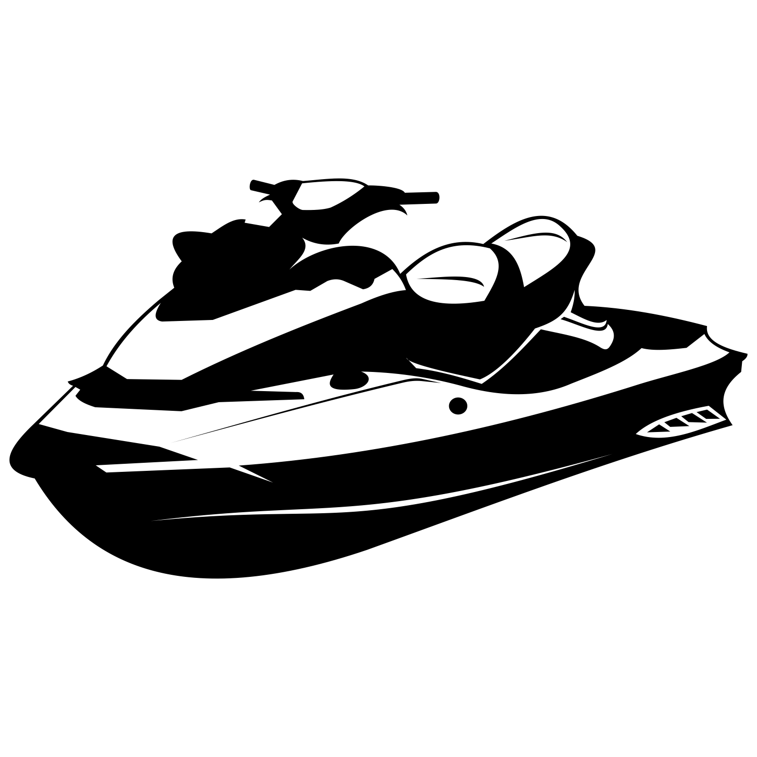 How To Draw A Jetski.