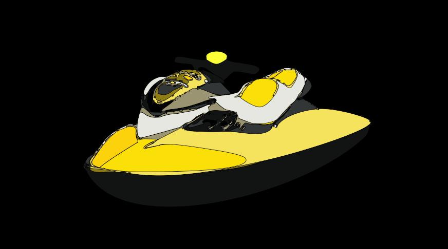 Jet Ski Clipart.