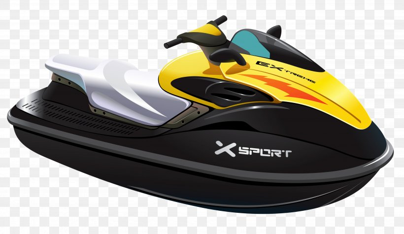 Jet Ski Clip Art, PNG, 3905x2266px, Personal Water Craft.