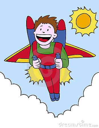 Jetpack Stock Illustrations.