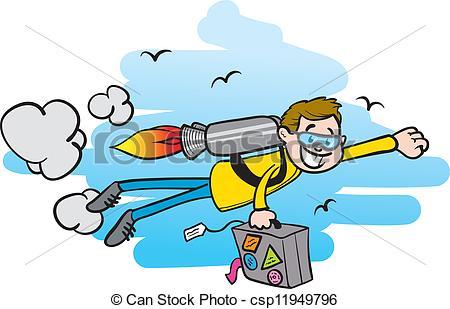 Jet pack Clip Art Vector Graphics. 125 Jet pack EPS clipart vector.