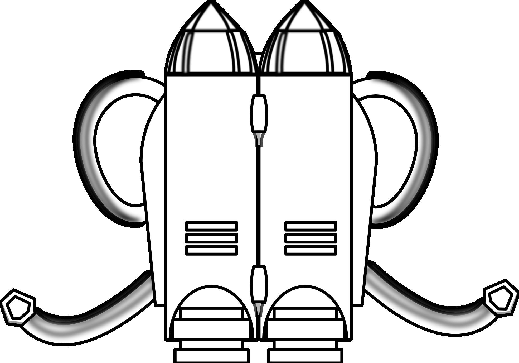 Jetpack Clipart.