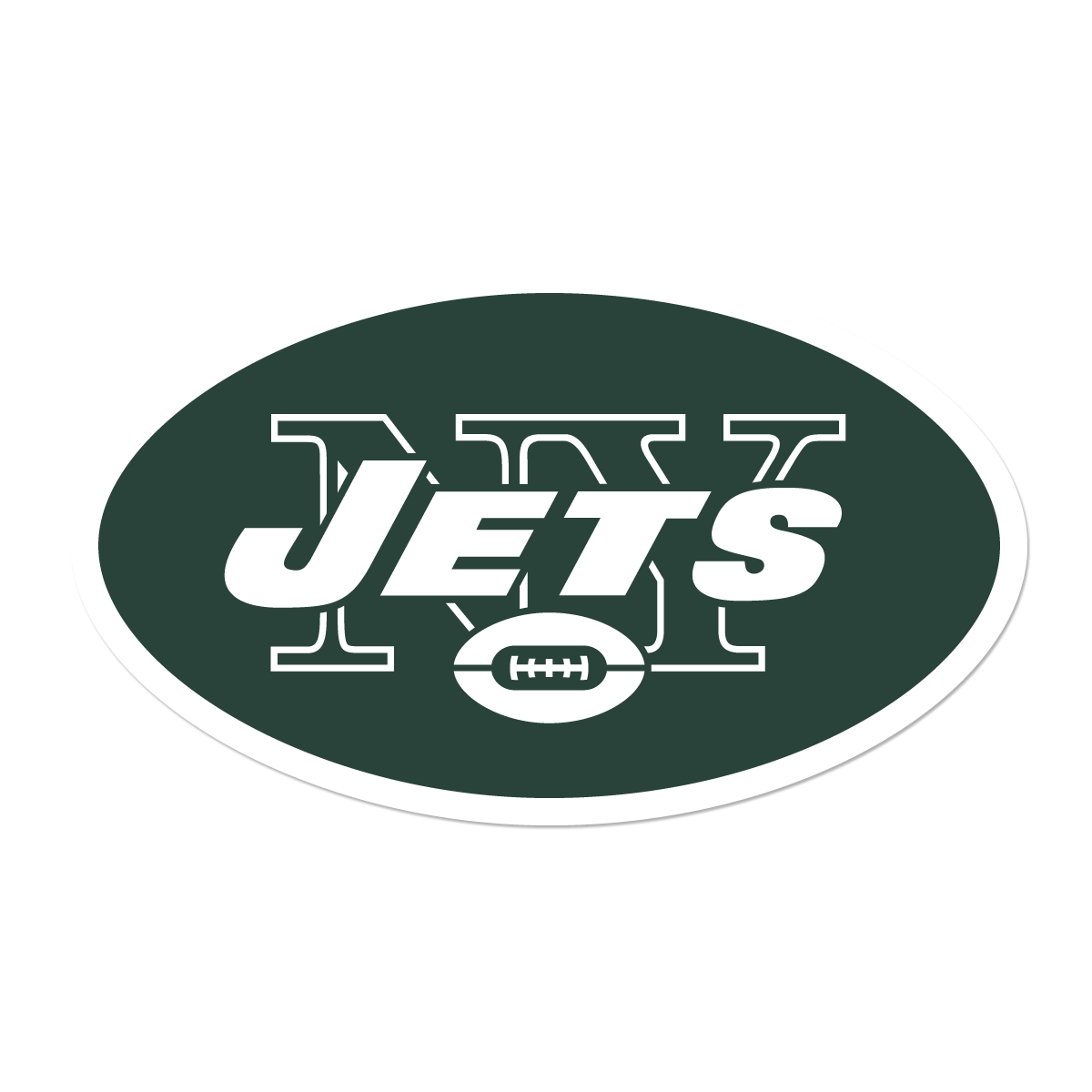 New York Jets Logo transparent PNG.
