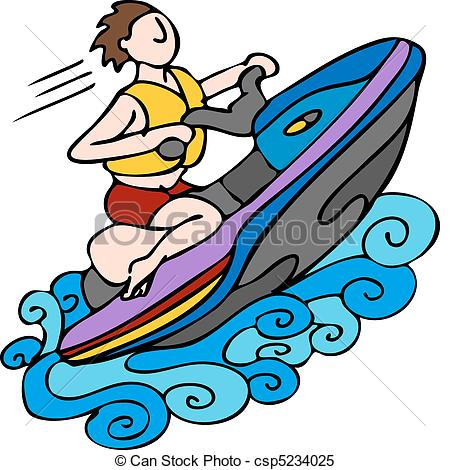 Jetski Clip Art Vector Graphics. 175 Jetski EPS clipart vector and.