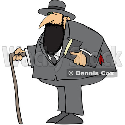 Jew Clipart by Dennis Cox.
