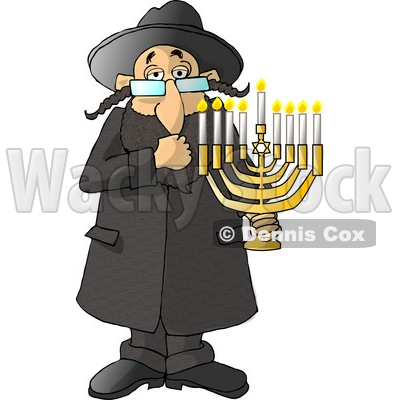 Jewish Person Clipart.