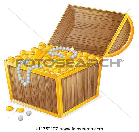 Clipart of a jewellery and a box k11397972.