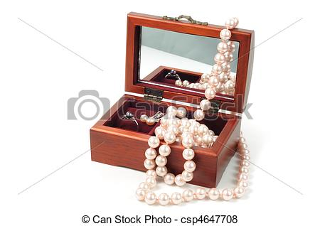 Pictures of Jewelry wooden box.