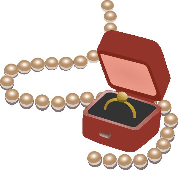 Jewelry Box Clipart.