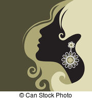 Jewellery Girl Clipart.