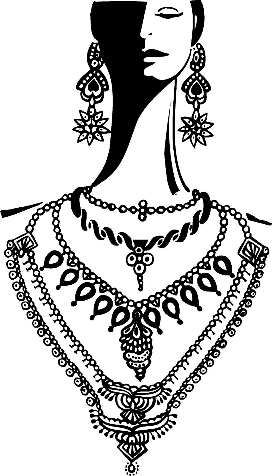480 Jewellery free clipart.