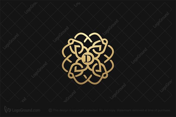 Exclusive Logo 165501, Jewelry Ornament Logo.