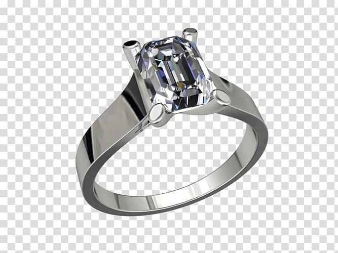 Silver Wedding ring Body Jewellery, jewellery model.