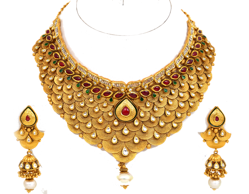 Download Jewellery Necklace PNG Transparent Image For Designing.