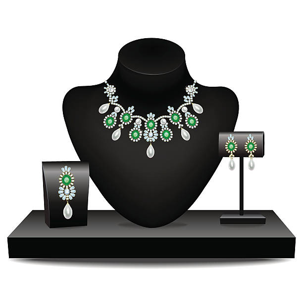Best Jewelry Display Illustrations, Royalty.